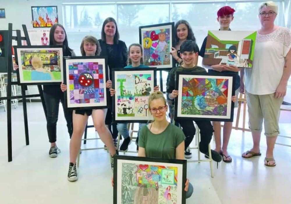 L'art communautaire au service des élèves de l'école secondaire Liberté-Jeunesse